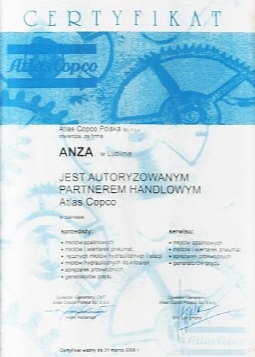 Autoryzacja Atlas Copco