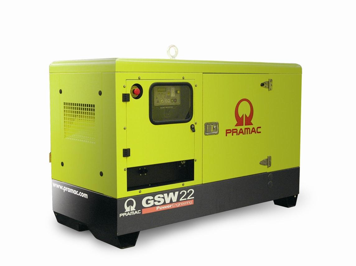 Poważne Pramac Agregat prądotwórczy GSW 22 – ANZA Lublin JL52